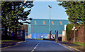 C8432 : Harbour gate, Coleraine by Albert Bridge
