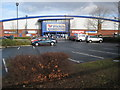 SO8555 : Wickes, Worcester by Philip Halling