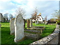TL2844 : St Mary's Church, Guilden Morden, Graveyard by Alexander P Kapp