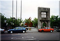 M3025 : Brown's Doorway, Eyre Square, Galway by Jo Turner