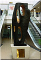 SO9198 : Sculpture in the Mander Centre, Wolverhampton by Roger  Kidd