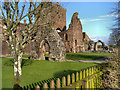 NX9666 : New Abbey, Sweetheart Abbey by David Dixon