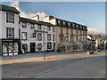 NY2623 : Keswick, King's Arms and Skiddaw Hotel by David Dixon