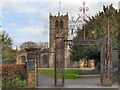 SD5192 : Church Gates, Holy Trinity by David Dixon