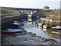 NZ3376 : Bridges at Seaton Sluice by Oliver Dixon