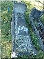 SU4113 : Titanic gravestone- Arthur Burroughs by Basher Eyre