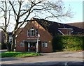 TQ1656 : Church Hall, Leatherhead by nick macneill