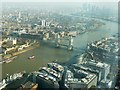 TQ3380 : Around Tower Bridge from The Shard by Rob Farrow