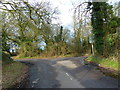 TQ0193 : Junction of Brawlings Lane and Gorelands Lane by Alexander P Kapp