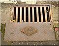 J3479 : Millfield Foundry rodding access cover, Greencastle, Belfast (1) by Albert Bridge