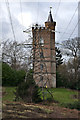 TQ0859 : Gothic Tower, Painshill Park by Ian Capper