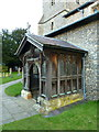 SU9993 : The Parish Church of Chalfont St Giles, Porch by Alexander P Kapp