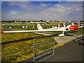 SU8553 : Farnborough Airfield by Fred Howard