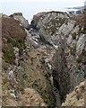 NR3475 : Coastline north of Gortantoid, Islay by Becky Williamson