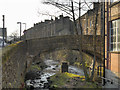 SE1408 : Lane Head Road Bridge, Holmfirth by David Dixon