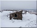 NY8244 : Shooting cabin on Kilhope Law by Oliver Dixon