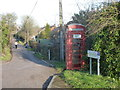 ST7730 : Bourton: telephone box on the main road by Chris Downer