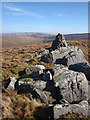 SD6160 : Cairn on Mallowdale Pike by Karl and Ali