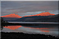 NN0807 : Loch Fyne at sunset : Week 9