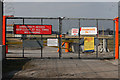 SJ8284 : Emergency Access Gate by Andrew Whale