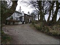 SD7612 : Cottages near Affetside by Philip Platt