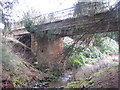 NT2159 : Bridge over the Silver Burn by M J Richardson