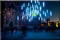 SE1632 : Light installation outside the City Hall, Bradford by Phil Champion