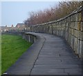 SE6051 : York Walls east of Fishergate Bar by Paul Harrop