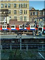 TQ2579 : London Underground Train leaving High Street Kensington Station by PAUL FARMER