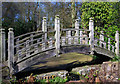 SP0583 : Japanese Bridge at Winterbourne Botanic Garden by Phil Champion