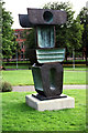 SP0483 : Ancestor I - Barbara Hepworth (1970) by Phil Champion