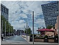 SJ3490 : Thomas Steers Way Liverpool by Gillie Rhodes