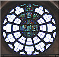 TQ2785 : All Hallows, Gospel Oak - Stained glass window by John Salmon