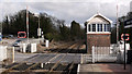SK5082 : Signal box at Kiveton Park Station by Trevor Littlewood