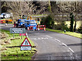NX8654 : Roadworks at Colvend by David Dixon