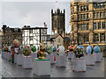 SJ8398 : Exchange Square, The 2013 Easter Egg Hunt by David Dixon