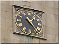 TQ3182 : St Mark's, Clerkenwell: clock face by Stephen Craven