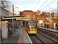 SJ8196 : Metrolink Station, Trafford Bar by David Dixon