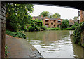 SP2055 : The canal in Stratford-upon-Avon, Warwickshire by Roger  Kidd