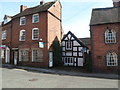 SO7975 : A small black and white cottage, Bewdley by John Grayson
