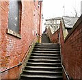 SJ8990 : Steps to St Petersgate by Gerald England