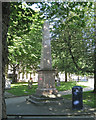 SP0686 : Memorial to Thomas Unett, St Philip's churchyard B3 by Robin Stott