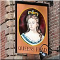 SJ8990 : Queens Head by Gerald England