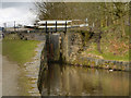 SD9703 : Huddersfield Narrow Canal, Roaches Lock (#15W) by David Dixon