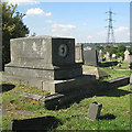 SP0891 : Chest tomb for the Day family, Witton Cemetery by Robin Stott