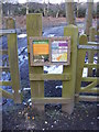 TM4567 : Open Access Land Map at the gated entrance by Adrian Cable