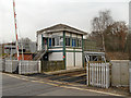 SJ7781 : Mobberley Level Crossing Control Box by David Dixon