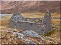 NH0017 : Ruin near Glenlicht House by Jim Barton