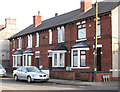 SK5054 : Annesley Woodhouse - terrace on Nuncargate Road by Dave Bevis
