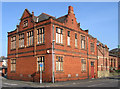 SJ6088 : Warrington - Wycliffe Memorial Building at road junction by Dave Bevis
